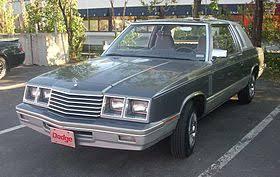 1980s dodge cars dodge 400