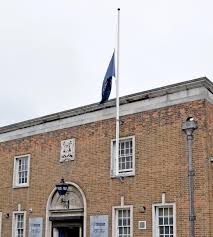 Fly Flag At Half Mast Fly Flag At Half Mast In In Wake Of Manchester Terrorist Attack