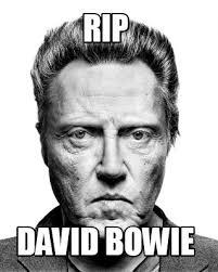 Bowie Meme - meme creator rip david bowie meme generator at memecreator org