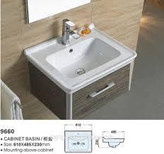 kohler ceramic basin washbasin cabinet design basin mounting above
