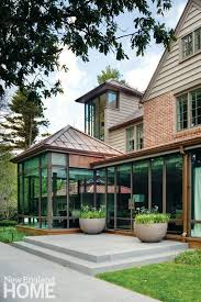what makes a house a tudor an updated tudor style home in wellesley new england home magazine