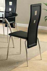 Wingback Dining Chairs Sale Richmond Black Leather Wingback Dining Chair With Weathered Oak
