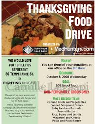 flyer thanksgiving food drive by camille legaspi on deviantart