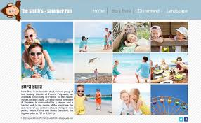 vacation photo album a free online family summer album with wix