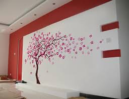 Wall Stickers For Kids Rooms by Popdecors Cherry Blossom Tree 83inch H Beautiful Tree Wall