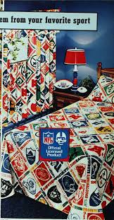 Sears Bed Set Football Friday Vintage Nfl Products From The Sears Catalog