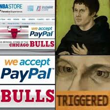 Martin Luther Memes - martin luther and the papal bulls triggered comics know your meme