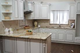 Pictures Of Antiqued Kitchen Cabinets Pre Assembled Antique White Solid Wood Kitchen Cabinets