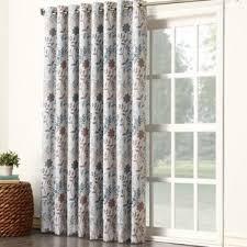 sliding door curtains wayfair