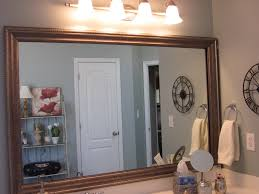 how to frame existing bathroom mirrors sondra lyn at home