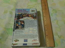 kids for character vhs ebay