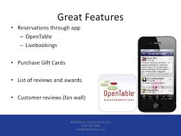 open table gift card review how mobile apps can increase your revenue
