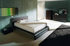 wenge matte finish latest european bedroom set w platform bed
