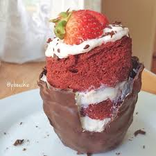 red velvet mugcake the coconut diaries