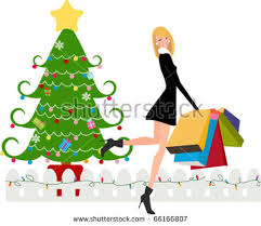 woman with christmas tree dress vector download free vector art
