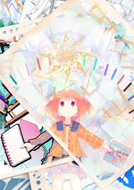 anime art artist art supplies sketchbook comic
