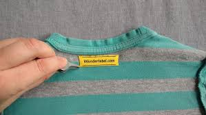 iron clothing how to remove an iron on label wunderlabel