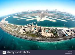 hotel atlantis aerial view of palm jumeirah and atlantis hotel dubai united