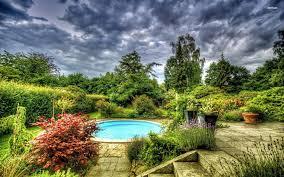 breathtaking backyard large garden ideas presenting forest