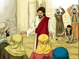 free bible images jesus is asked to give his judgement on a woman