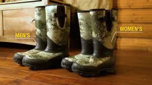 cabela u0027s stand hunter 1 600 gram rubber boots youtube