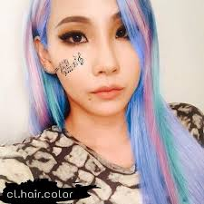 hair cl on ohmygod i swear cl can rock every hair color