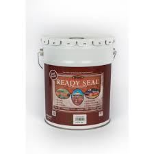 ready seal 5 gal dark walnut exterior wood stain and sealer 525