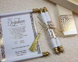 wedding scroll invitations scroll invitations etsy