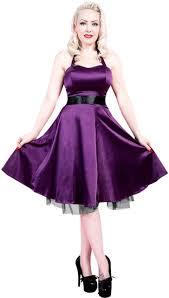 purple satin dress vintage styles 50 u0027s dresses rockabilly