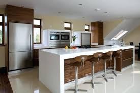 bar dans une cuisine 411727590926875356 une table bar dans la cuisine aux lignes modernes