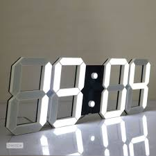 led digital large wall clock us delivery alarm clock watch