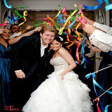 ribbon wands supple 3 color lace wedding ribbon wands wedding confetti twiring
