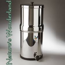 Berkey Water Filter Stand by Stainless Steel Berkey Water Filter System British Berkefeld W