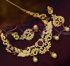 small necklace designs images Nl10458 small size fashion ad jewellery short necklace designs JPG