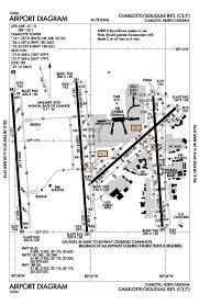 Map Of Charlotte Airport Charlotte Douglas Nc U2013 Oep Kclt Aviation Impact Reform