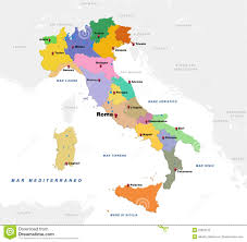Map Of Italy With Cities by Genoa Italy Map Stock Photo Image 80956443