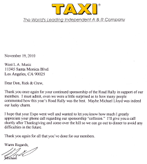 Thank You For Your Continued Support Business Letter by West La Music Where The Pros Shop