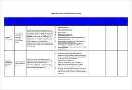 Strategic Planning Template Excel 15 Recruitment Strategy Templates Free Sle Exle Format