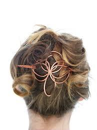 barrette hair angel hair slide hair accessories copper hair barrette hair