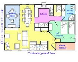 Tree House Floor Plan Treehouse U0026 Treetops