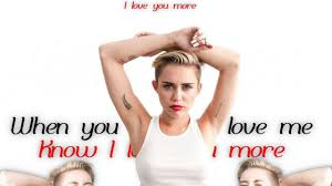 miley cyrus adore you lyric video youtube