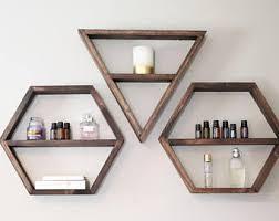 Triangle Shaped Bookcase Triangle Shelf Etsy