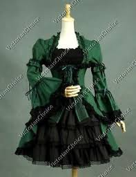 Victorian Halloween Costume Victorian Gothic Lady Dark Witch Dress Punk Halloween