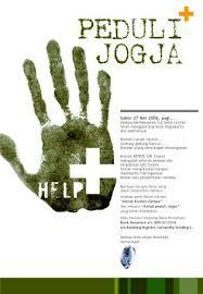 earthquake jogja yogya earthquake poster by yosioci on deviantart