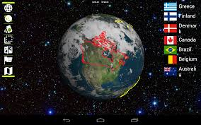Google World Map With Country Names by Earth 3d Android Apps On Google Play