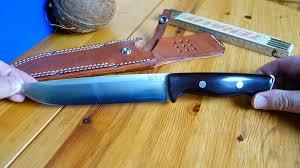 bark river kitchen knives bark river knives bravo 2 german youtube