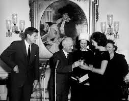 ar6351 b president kennedy and jacqueline kennedy accept