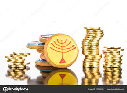 where to buy hanukkah gelt cookies and hanukkah gelt stock photo vadimvasenin 172200980