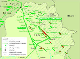 Iraq Province Map Race In Syria And Iraq