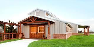 pole barn homes prices custom home builder east cabin brick barn homes barn homes builders